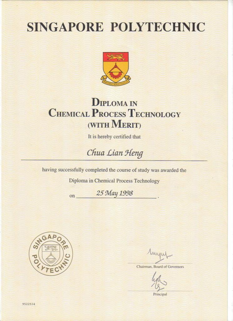 Singapore Poly Diploma
